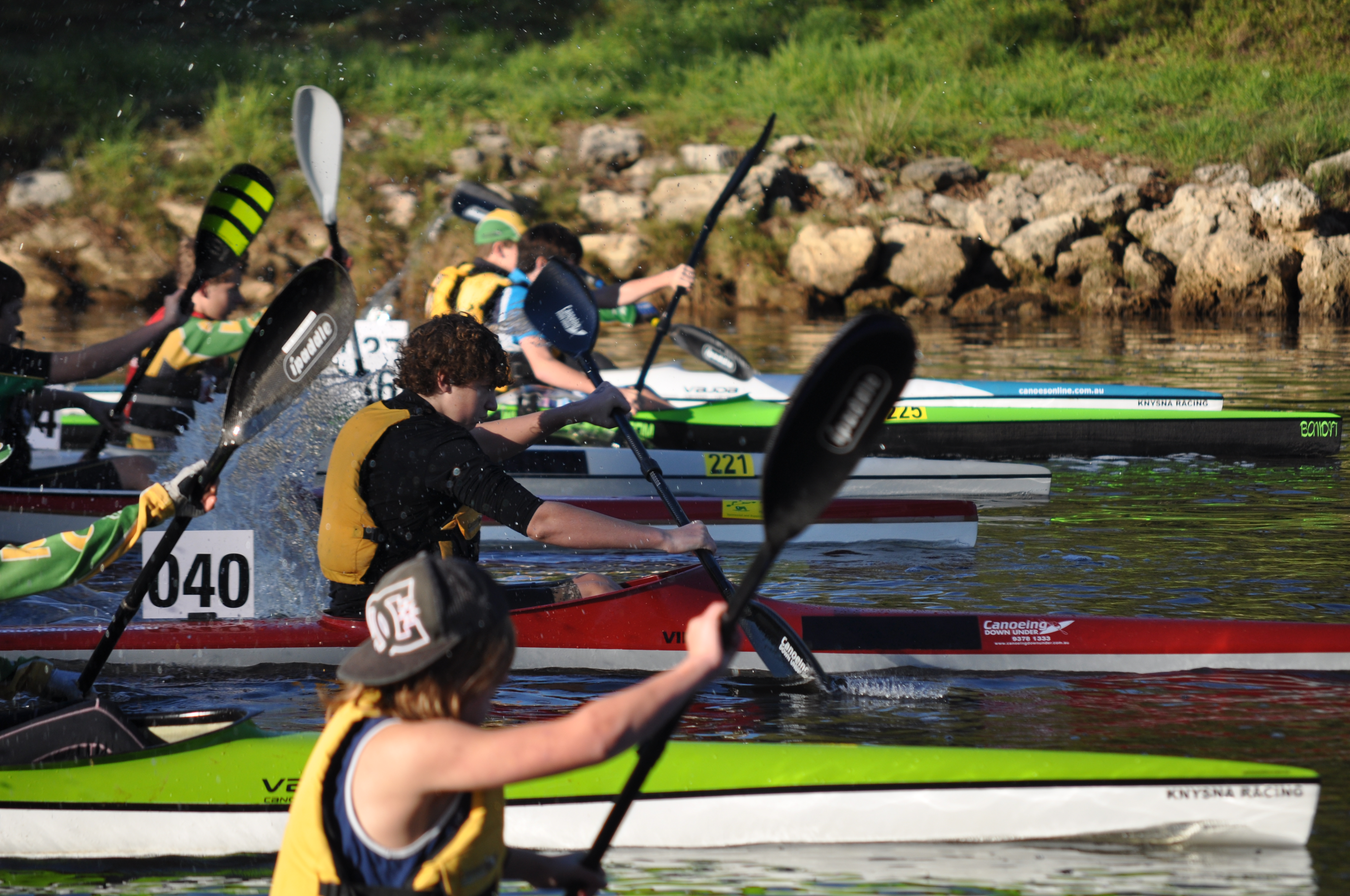 Avon Descent Second Seeding Race is Marathon #7 — Middle Swan Race