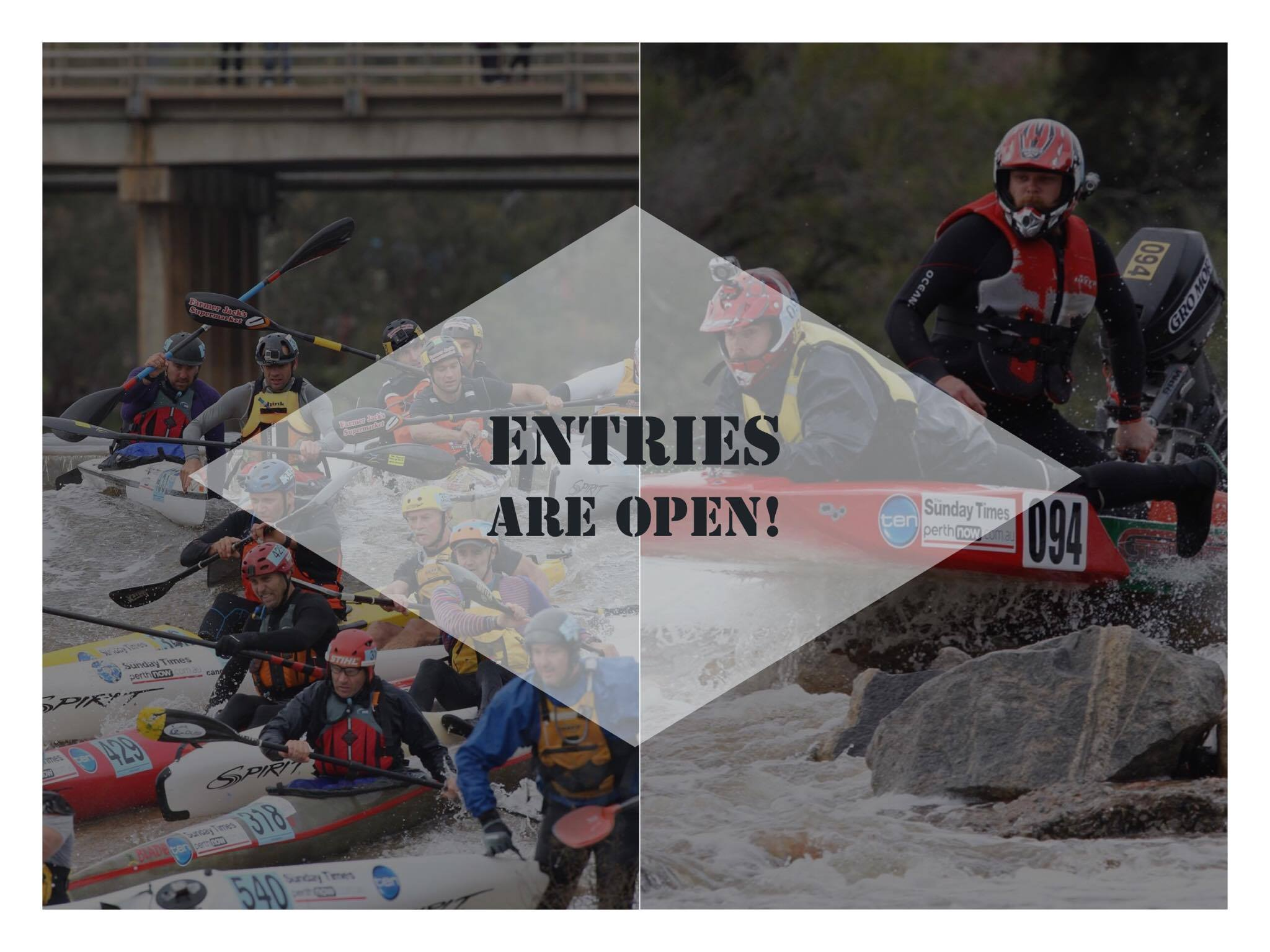 Entries are now open!