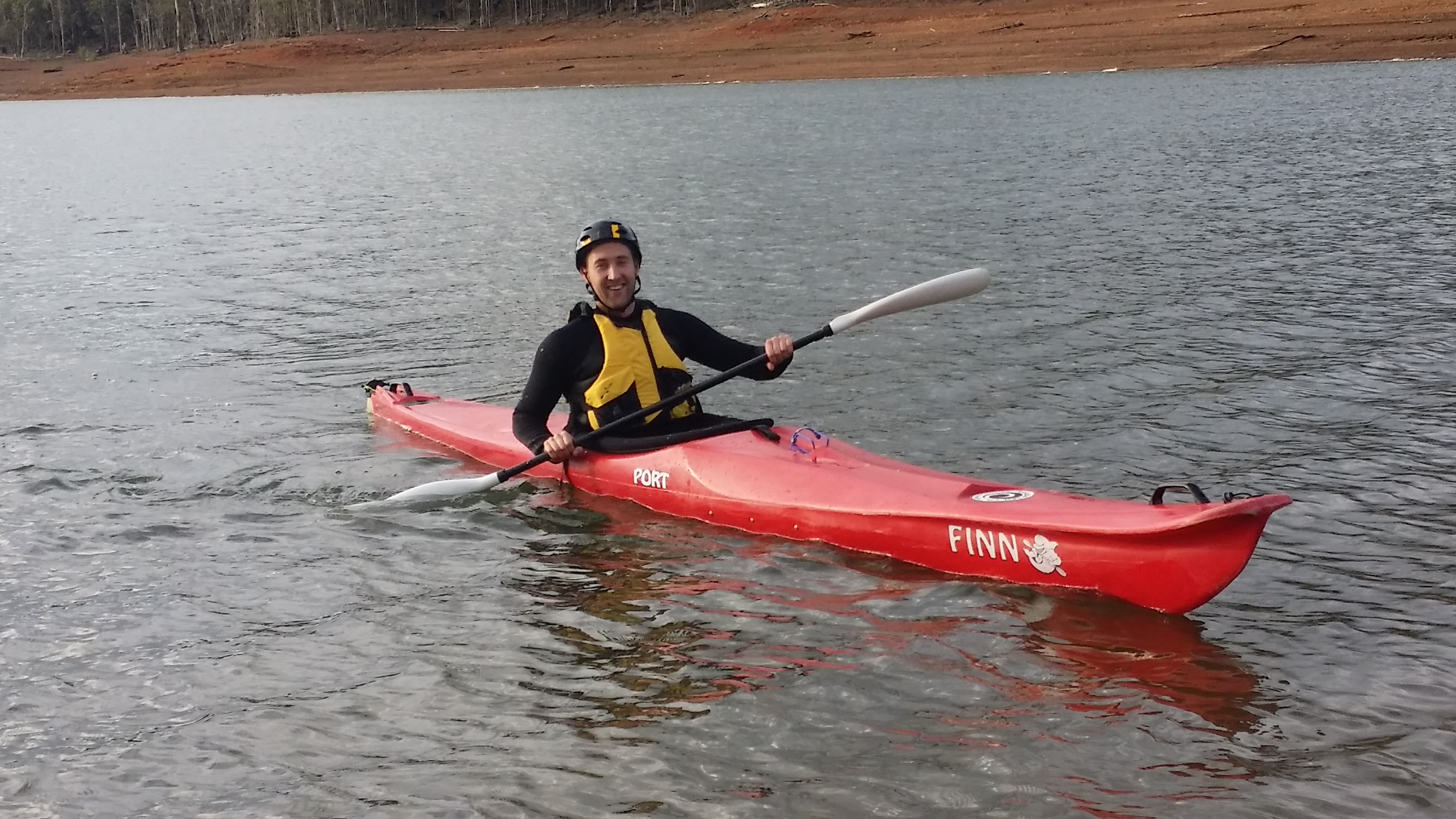 Brad Harvey: Novice paddler prepares for his first Avon Descent!