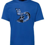 Paddler Hell or High Water T-Shirt (Men's, Blue)