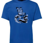 Powercraft Hell or High Water T-Shirt (Men's, Blue)