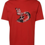Paddler Hell or High Water T-Shirt (Men's, Red)