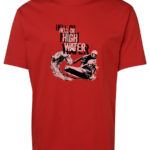 Powercraft Hell or High Water T-Shirt (Men's, Red)