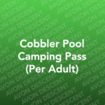 Cobbler Pool Camping Pass 2020 (Per Adult)