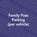 Family Parking Pass 2019 (Per Vehicle)