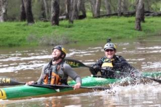 Jane Liddle: Powerful Paddler and Avon Descent Competitor!