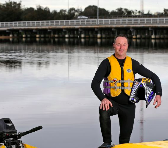 Veteran power boater gears up for 17th Avon Descent