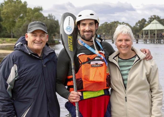 Avon Descent: Former winner and national champion Josh Kippin breaks single marathon kayak record
